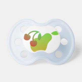 Pear and Cherry Pacifiers
