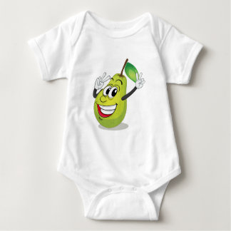 pear baby bodysuit