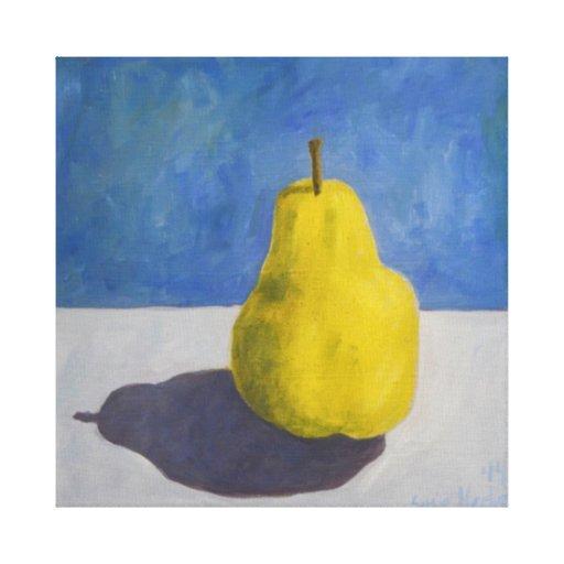 Pear Canvas Prints