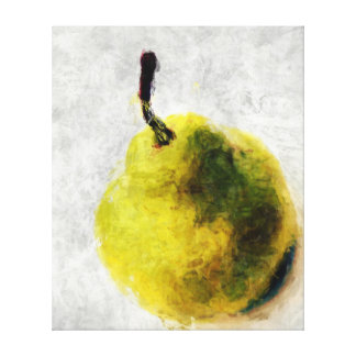 Pear Gallery Wrap Canvas