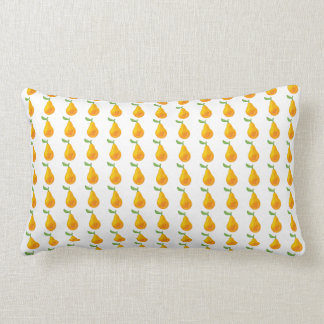 Pear fruit original pattern lumbar pillow
