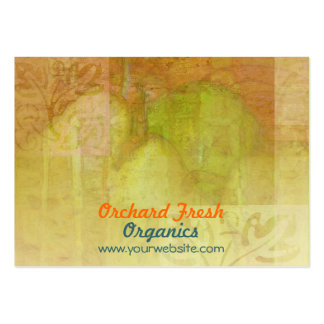 Pear Harmonies Pack Of Chubby Business Cards