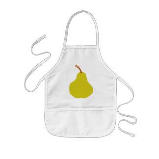 Pear Kid s apron