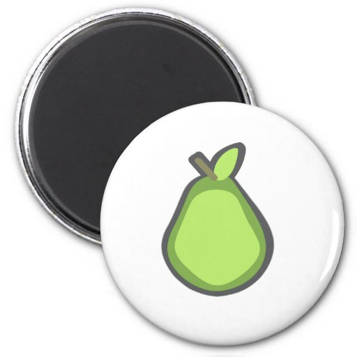 Pear Refrigerator Magnets