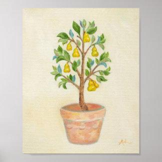 Pear Tree art print