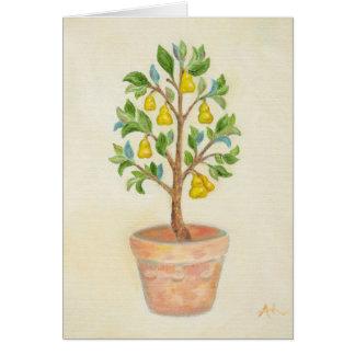 Pear Tree card