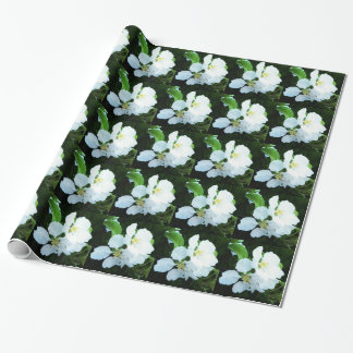 Pear tree flower wrapping paper
