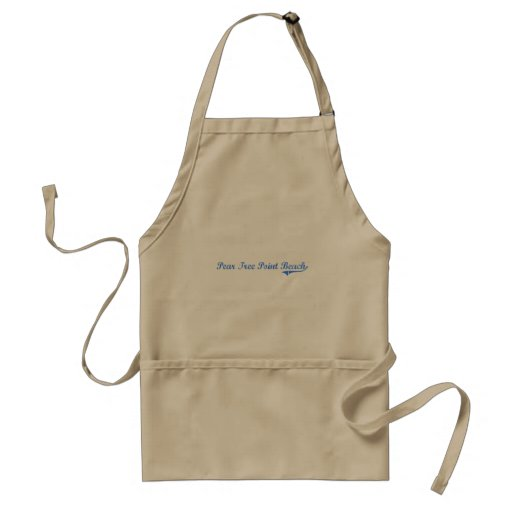 Pear Tree Point Beach Connecticut Classic Design Standard Apron