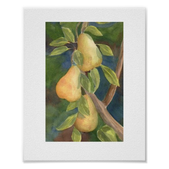 """Pear Tree"" Poster"