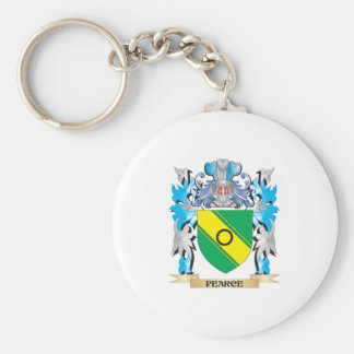 Pearce Coat of Arms - Family Crest Key Chain