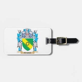 Pearce Coat of Arms - Family Crest Travel Bag Tags