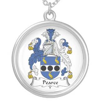Pearce Family Crest Necklaces