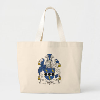 Pearce Family Crest Tote Bags