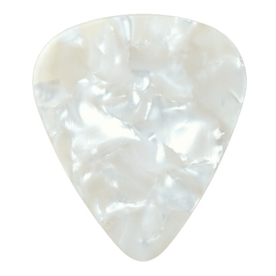 Medium Gauge  .80mm Guitar Picks, Pearl Celluloid