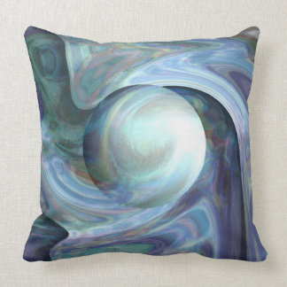 Pearl Diving Throw Pillow