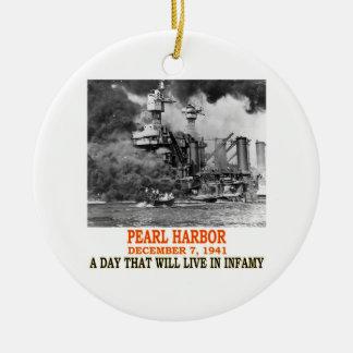 PEARL HARBOR CHRISTMAS ORNAMENT