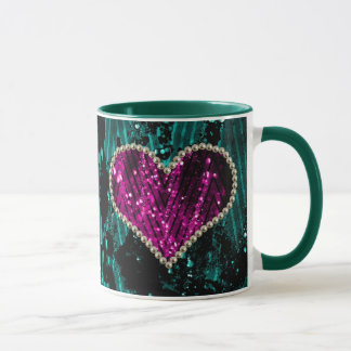 Pearl Heart Mug