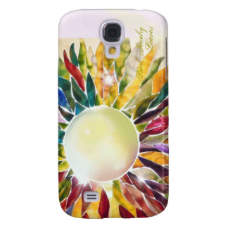 Pearl Jewelry Leaves Fashion  Galaxy S4 Case