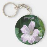 Pearl Keychain