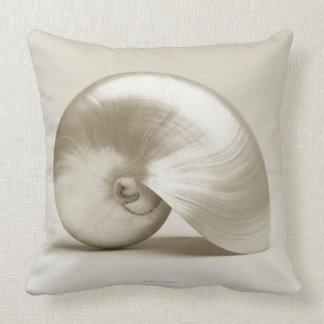 Pearl Nautilus Seashell Cushion