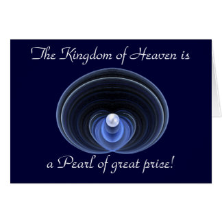 Pearl of great price! note card
