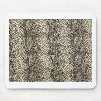 PEARL RATTLE SNAKE LEATHER TEXTURE MOUSE PAD