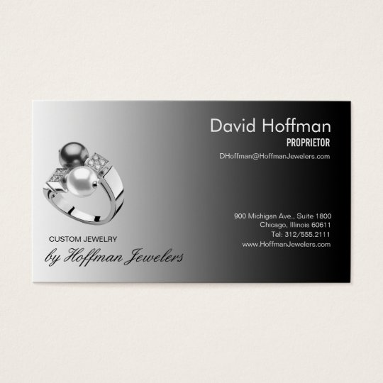pearl ring jewelers business card