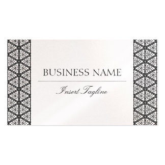 Pearl Tagline Business Cards