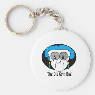 Pearl the Ole Gym Bag Key Chain