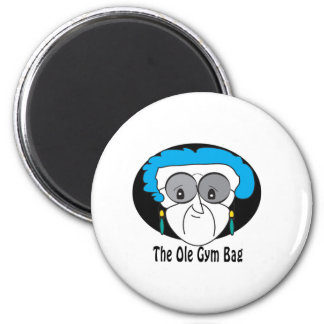 Pearl the Ole Gym Bag Magnet