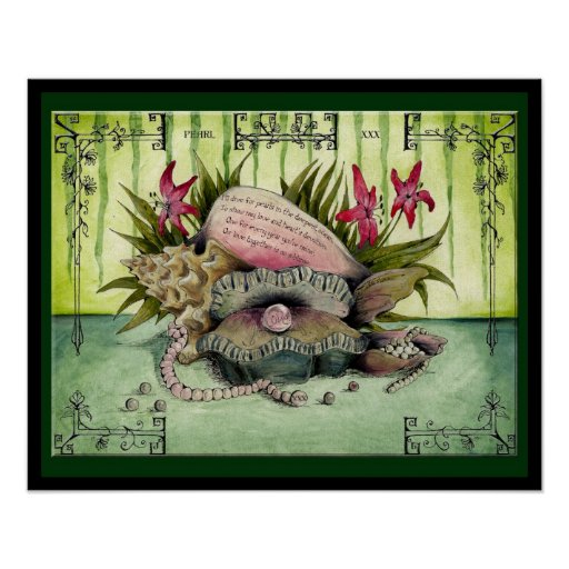 Pearl Wedding Anniversary: Jupigio-Artwork.com Poster