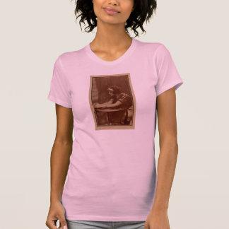 Pearl White 1911 silent movie star portrait T-shirt