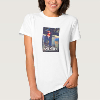 Pearl White 1922 color movie poster 'Any Wife' Shirts