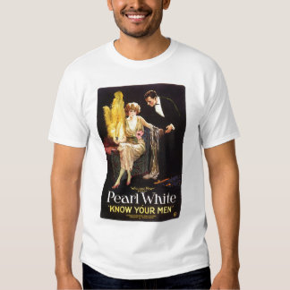 Pearl White Know Your Men 1921 silent movie poster T Shirt