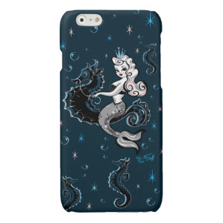 Pearla Mermaid on Seahorse Iphone Case iPhone 6 Plus Case