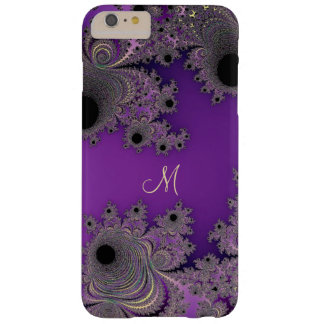 Pearlescent Purple Fractal Monogram iPhone Case