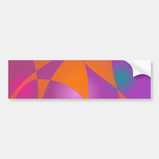 Pearls and  Autumn Leaves Bumper Sticker