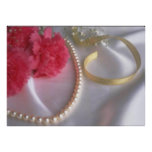 Pearls and carnations by tdgallery posters