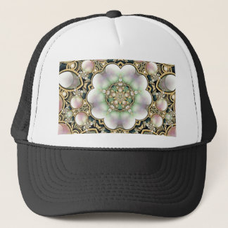 Pearls and Gold Kaleidoscope Trucker Hat