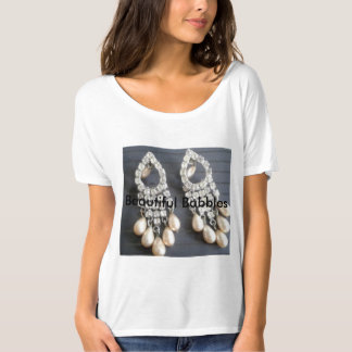 Pearls Earrings T-Shirt