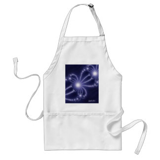 Pearls from the Deep 1 - Fractal Art Adult Apron