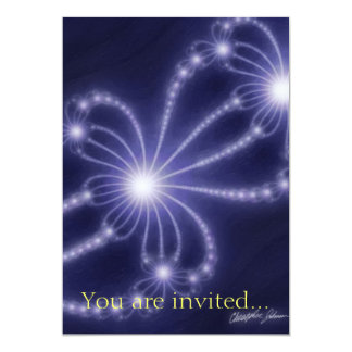 Pearls from the Deep 1 13 Cm X 18 Cm Invitation Card