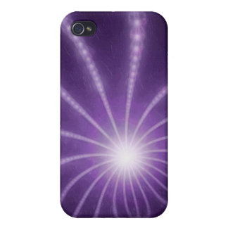 Pearls from the Deep 1 Purple Covers For iPhone 4