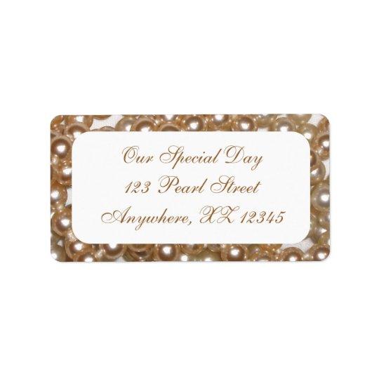 Pearls Label