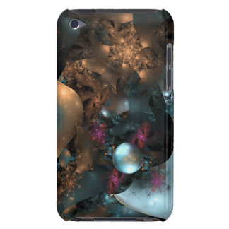Pearly Abstract Digital Art Fractal Case-Mate iPod Touch Case