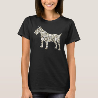 Pearly King and Queen Cockney Bull Terrier T-Shirt