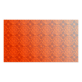 Pearly Orange Business Cards Template Blank