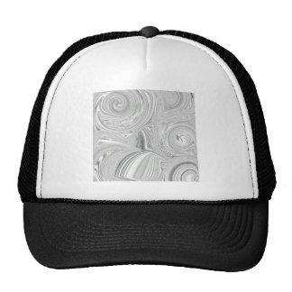 Pearly Swirl Design Trucker Hat