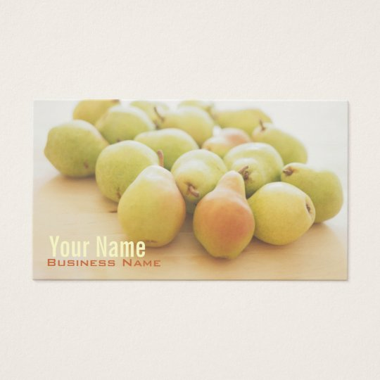 Pears Business Cards
