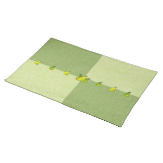 Pears Glass (tile/mint) Placemats